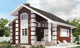 115-001-R Two Story House Plans with mansard, best house Custom Home