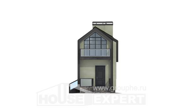 060-006-L Two Story House Plans and mansard, best house Construction Plans