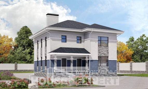 150-014-L Two Story House Plans, beautiful Cottages Plans