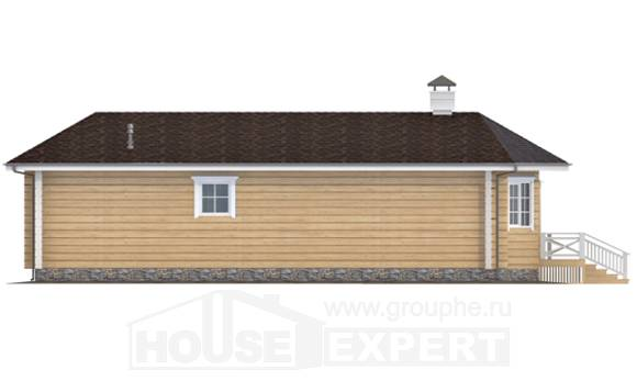 095-001-L One Story House Plans, economical House Planes