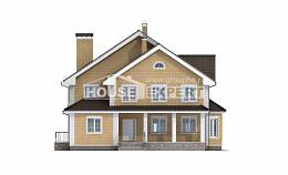 320-003-L Two Story House Plans, classic Building Plan