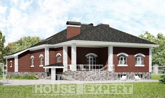 600-001-R Three Story House Plans with mansard and garage, beautiful Home House