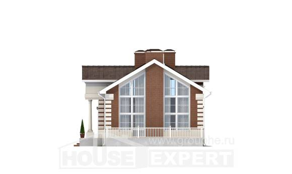 160-009-R Two Story House Plans, a simple Architectural Plans