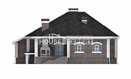 490-001-R Three Story House Plans with mansard with garage, big Villa Plan