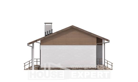 080-004-L One Story House Plans, modern Architect Plans