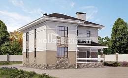 150-014-R Two Story House Plans, compact Plan Online