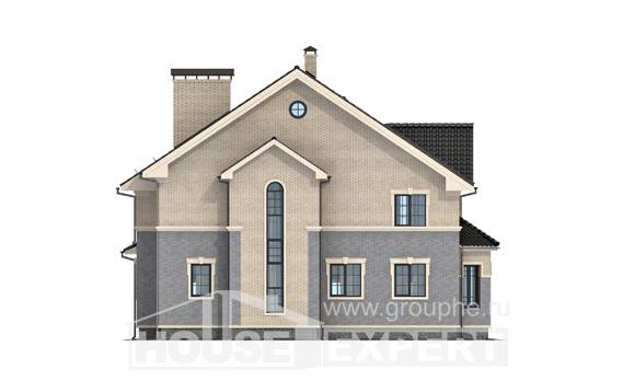 300-004-R Two Story House Plans, spacious Construction Plans