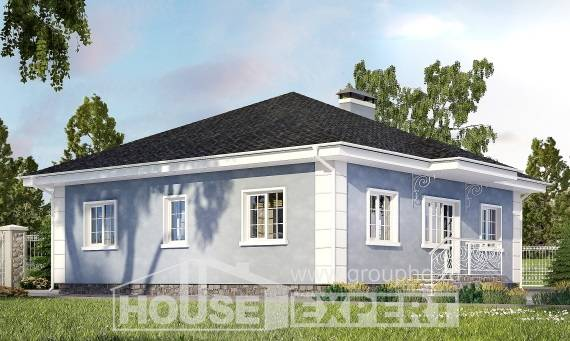 100-001-R One Story House Plans, inexpensive Planning And Design