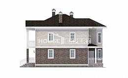 120-001-L Two Story House Plans, economical House Building
