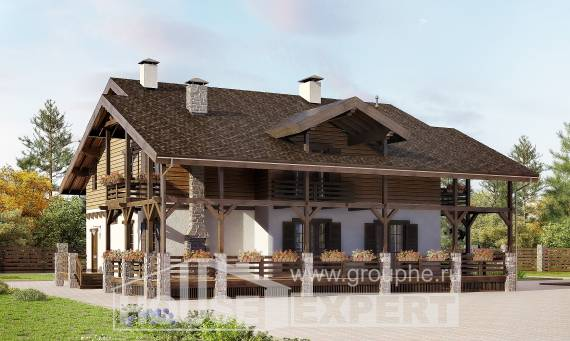 260-001-R Two Story House Plans with mansard roof, classic Planning And Design