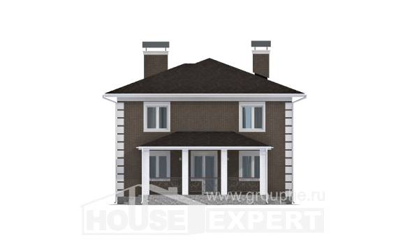 185-002-R Two Story House Plans, spacious Architect Plans