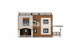 150-010-L Two Story House Plans, economical Models Plans
