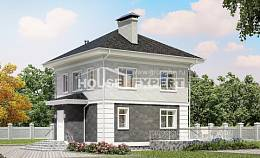 090-003-R Two Story House Plans, best house Tiny House Plans