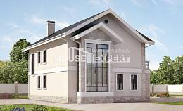 170-008-L Two Story House Plans, modern House Building