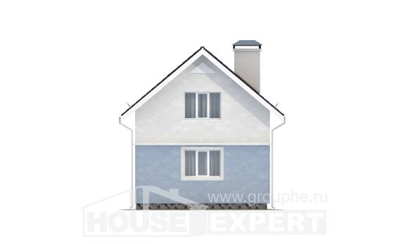 095-002-R Two Story House Plans and mansard, classic Models Plans