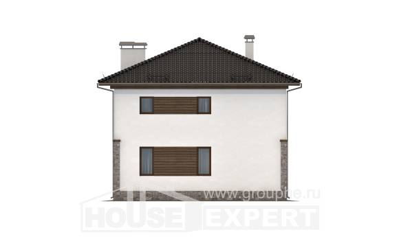 170-005-R Two Story House Plans, the budget Architect Plans