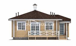 095-001-L One Story House Plans, modest Plan Online