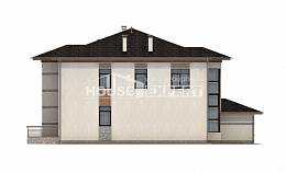 345-001-R Two Story House Plans, luxury Custom Home