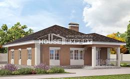 100-004-R One Story House Plans, modern Building Plan