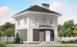 090-003-R Two Story House Plans, inexpensive Woodhouses Plans