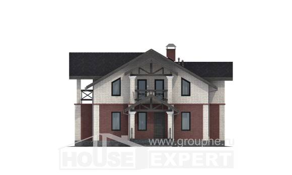 160-014-L Two Story House Plans, the budget Floor Plan