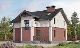 160-014-L Two Story House Plans, cozy Plans Free