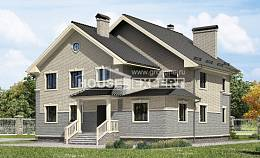 300-004-R Two Story House Plans, cozy House Blueprints