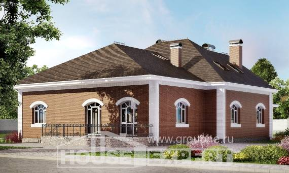 400-003-R Two Story House Plans and mansard, modern Construction Plans