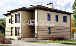 300-006-R Two Story House Plans with garage, cozy Home House
