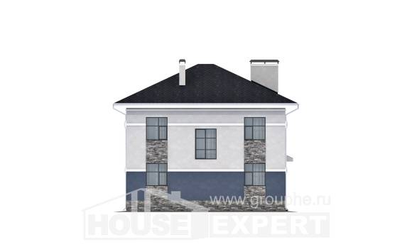150-014-L Two Story House Plans, beautiful Architects House