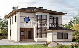 345-001-R Two Story House Plans, beautiful Blueprints of House Plans