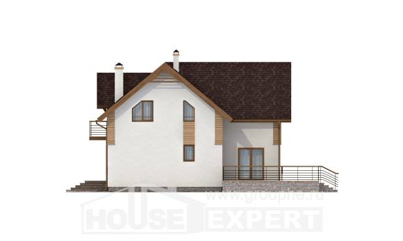 150-009-R  Two Story House Plans, classic Plans To Build