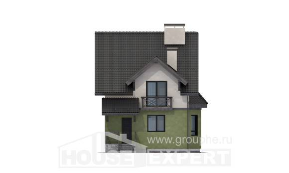 120-003-R Two Story House Plans, classic Dream Plan
