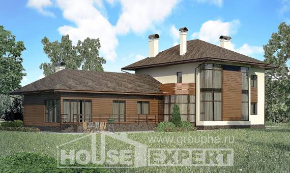 300-001-R Two Story House Plans, spacious Design House