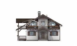 150-004-L Two Story House Plans and mansard, best house Custom Home