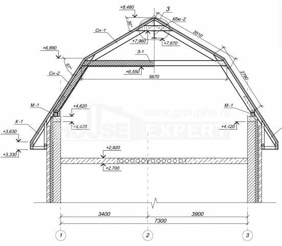 Строительство крыши своими руками чертежи