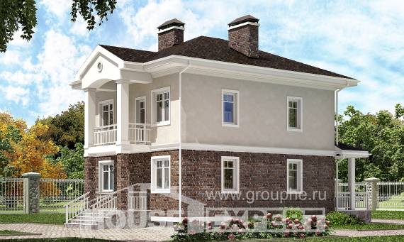 120-001-L Two Story House Plans, best house Architectural Plans