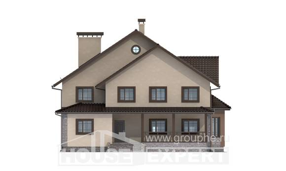 265-003-L Two Story House Plans, beautiful Models Plans