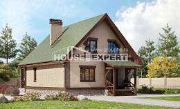 160-011-R Two Story House Plans with mansard roof, the budget Plans To Build