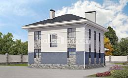 150-014-L Two Story House Plans, classic Cottages Plans