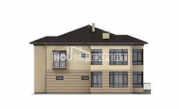 300-006-R Two Story House Plans with garage in back, big Plans To Build