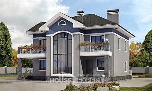 200-006-L Two Story House Plans, a simple Ranch
