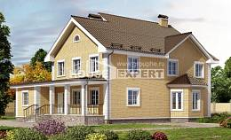 320-003-L Two Story House Plans, a huge Cottages Plans