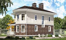 120-001-L Two Story House Plans, a simple Planning And Design