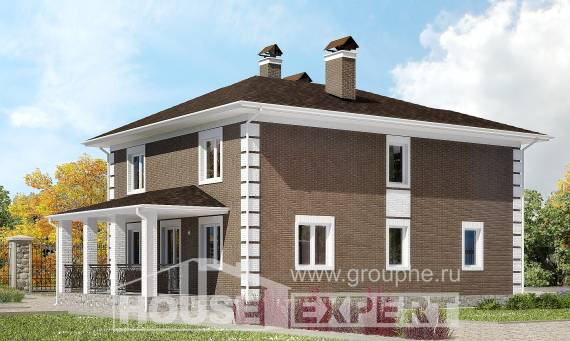 185-002-R Two Story House Plans, modern Design House