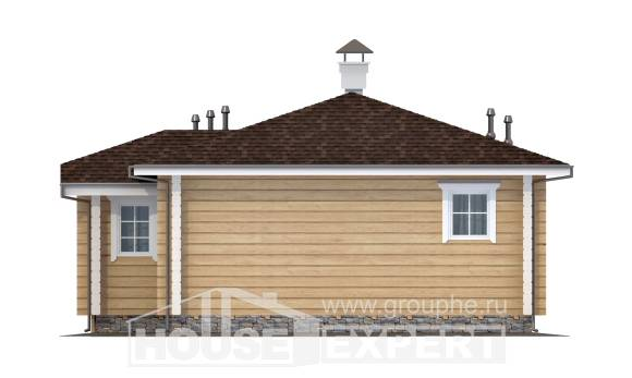 095-001-L One Story House Plans, available Timber Frame Houses Plans