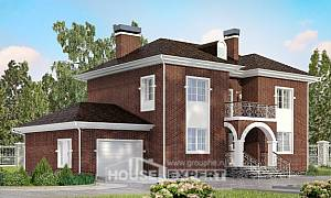 180-006-L Two Story House Plans with garage in front, beautiful Plan Online