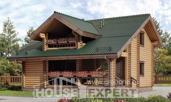 110-005-R Two Story House Plans with mansard roof, beautiful Dream Plan
