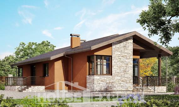130-007-R One Story House Plans, best house Planning And Design