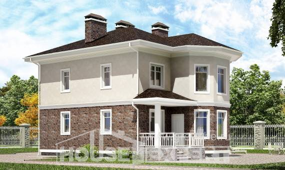 120-001-L Two Story House Plans, modern Plan Online